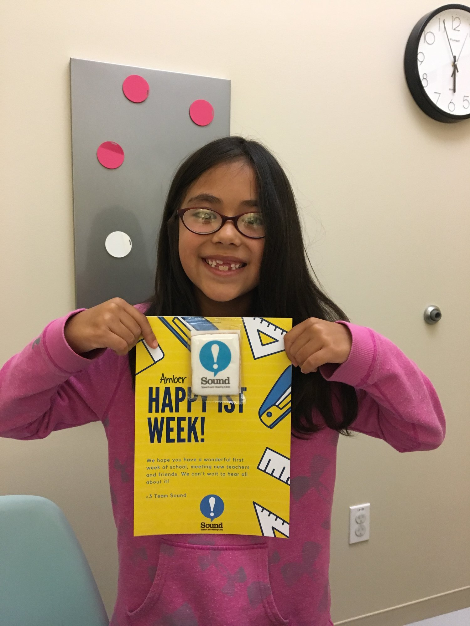 Happy First Week! — Sound Speech and Hearing Clinic - San Francisco