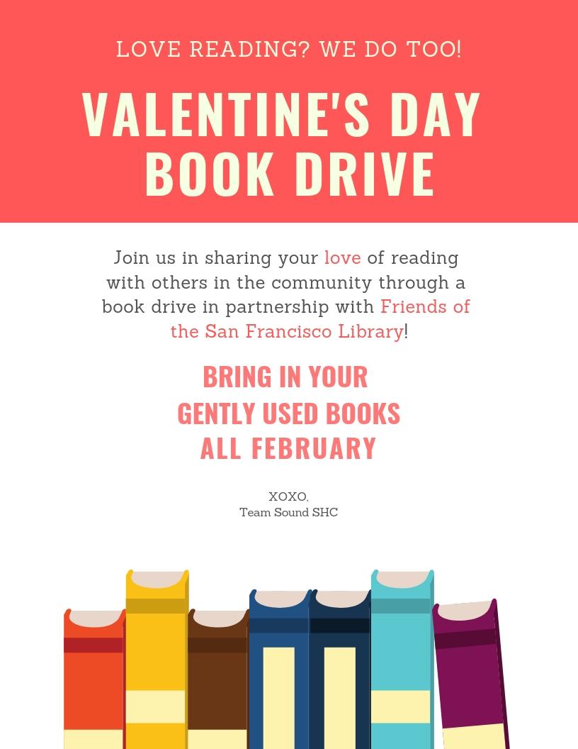 Valentine's Day Book Drive