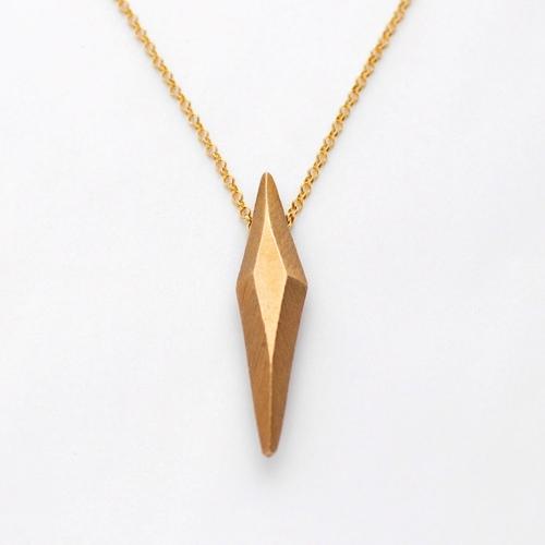 Diamond pendant on long 14k gold filled chain kono sono diamond pendant on long 14k gold filled chain aloadofball Images