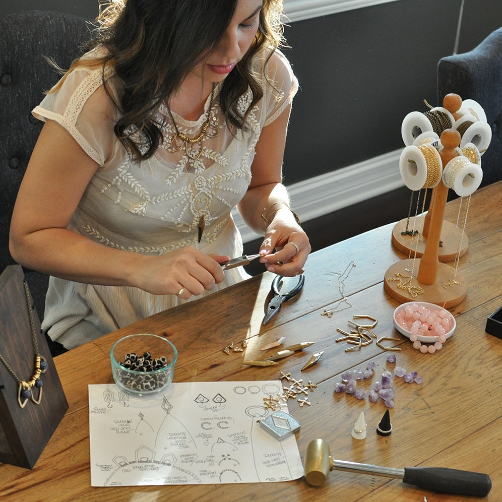 KonoandSono.com jewelry designer Lynn Okura Bey
