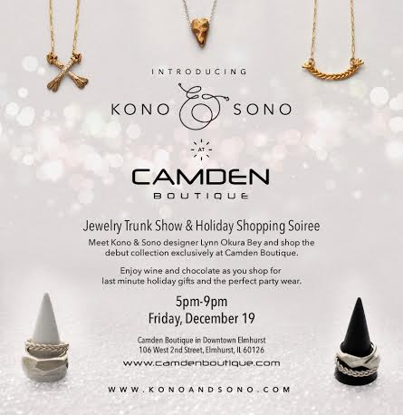 KonandSono Trunk Show at Camden Boutique