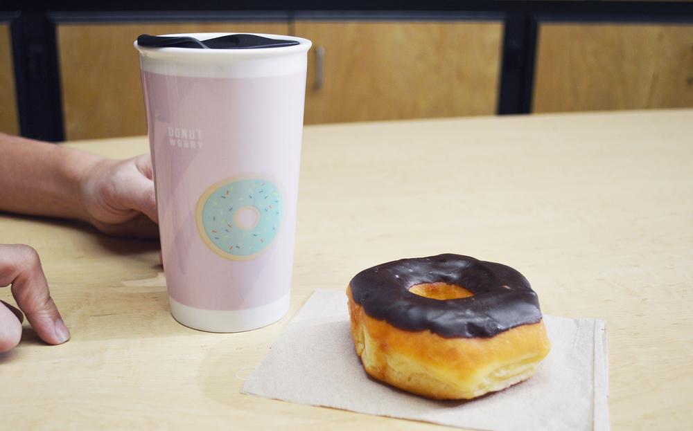 Donut Worry Mug