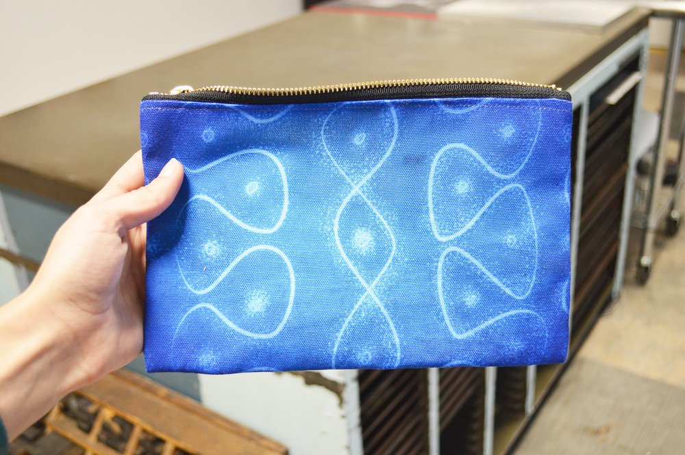 Chladni Pattern Studio Pouch