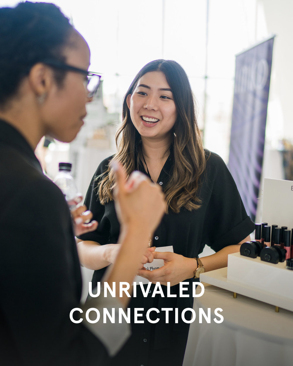 - Connect with the biggest names in the industry on the show floor.