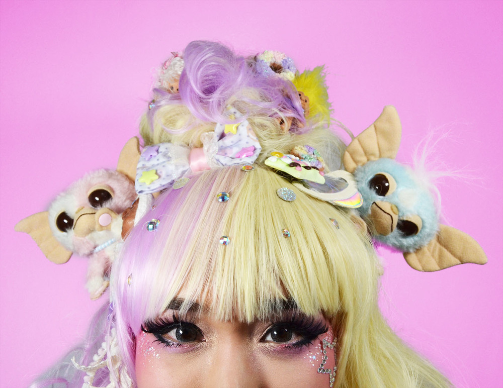 wig & accessories: minty mix; model & founder: kammie schnell; makeup by: midori tajiri-byrd