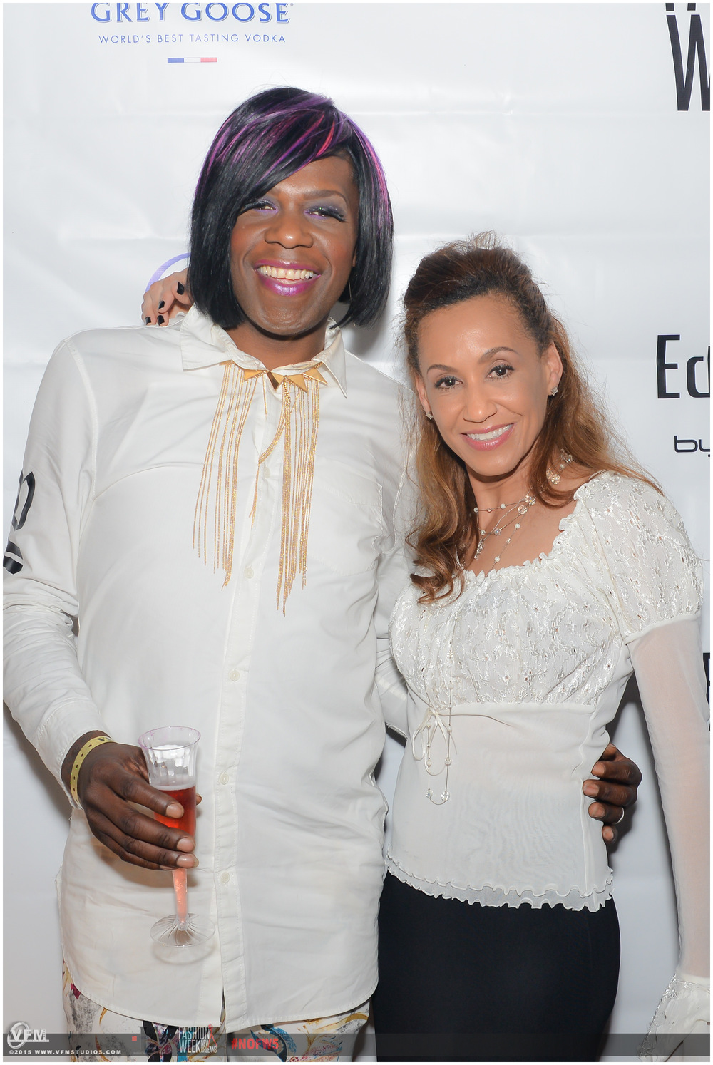 Tracee with the queen of bounce, big freedia