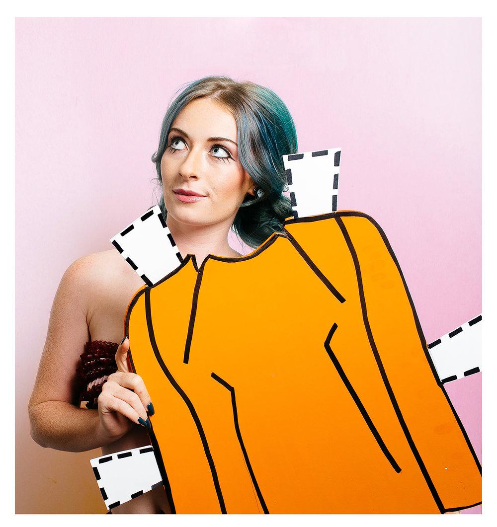 paper doll orange collage.jpg