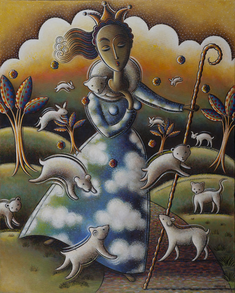 The Good Shepherd    Nancy Hannans