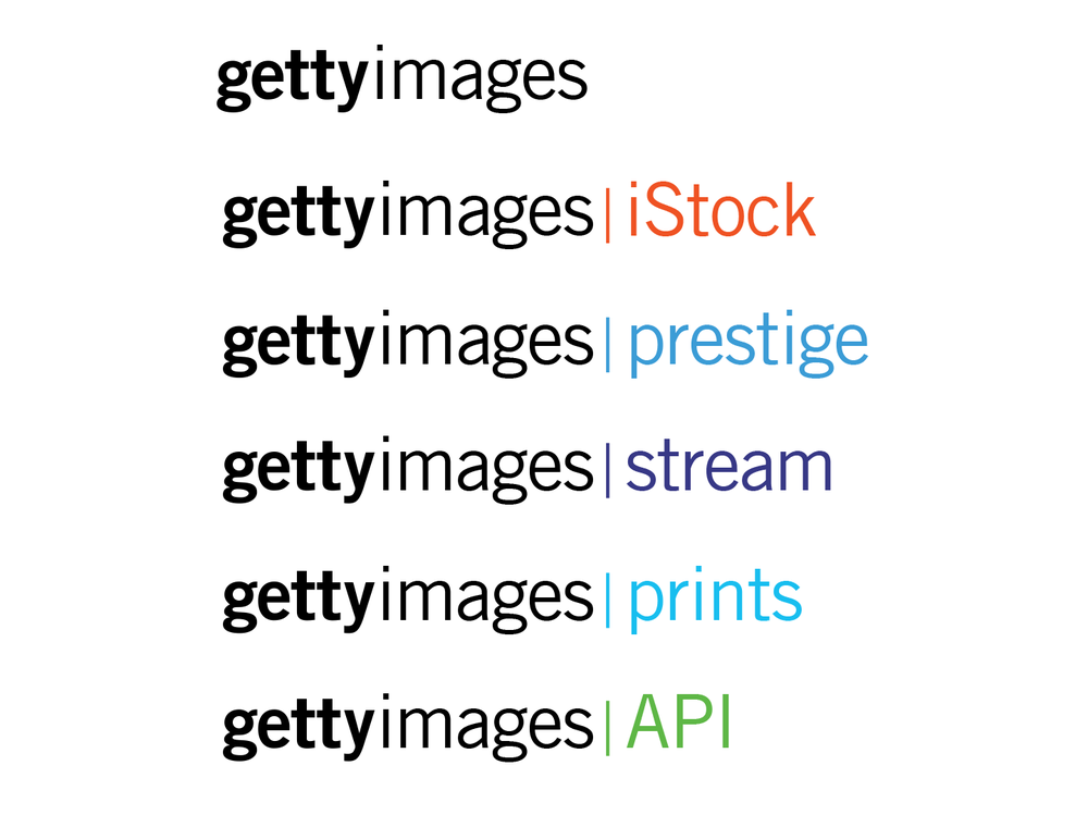 Getty Images Logo Family