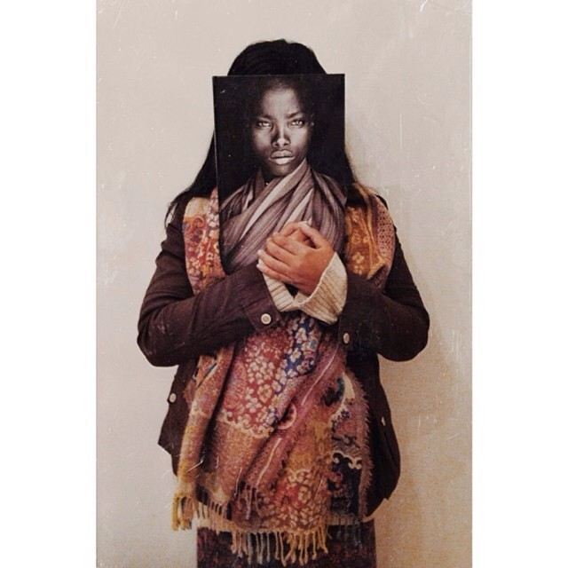 "Throwback to when I held a book of African portraits given to me by my father, ""L'afrique En Face"" (""Facing #Africa"") by photographer #JohnKenny. A lot of my inspiration comes from my heritage. #PortraitsOfAfrica #FacesOfAfrica  #AfricanCulture #ArtBooks #AfricanArt #African #AfricanWoman #Photography #layeredIdentities #heritage"
