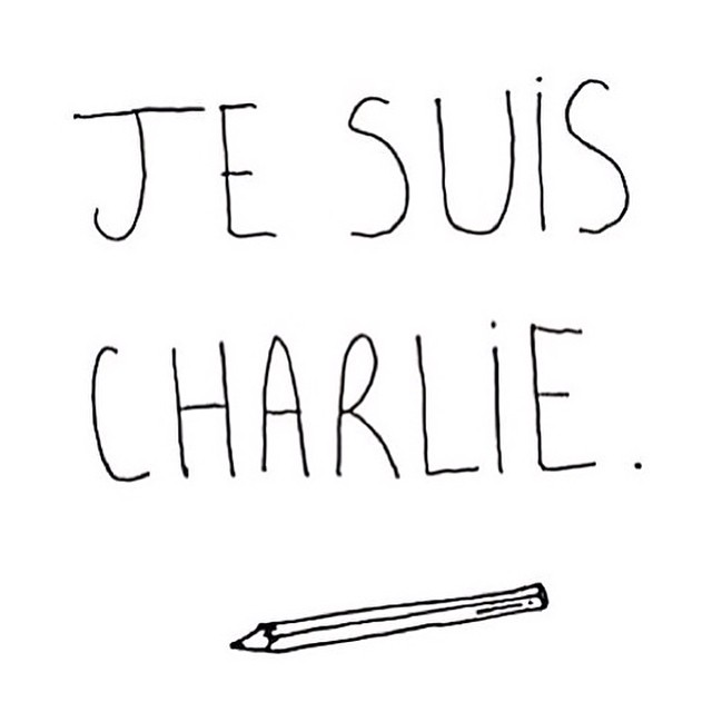 My heart goes out to the French cartoonists, their families and loved ones. We must keep #drawing for our #freedom to express ourselves! #CharlieHebdo #parisshooting #jesuischarlie #cartoonists #drawforfreedom #freedomofexpression.