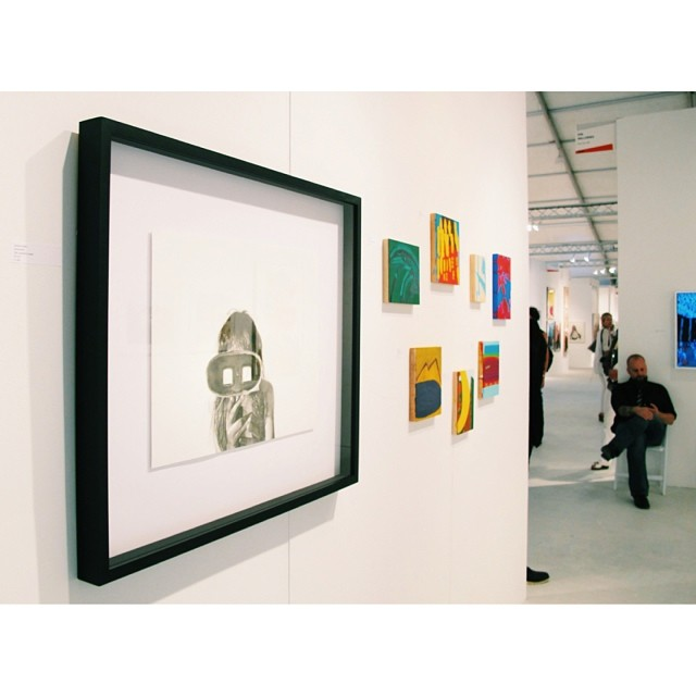Was such an amazing experience showing some of my drawings during @ArtBasel at #MiamiProject. Here's one of the drawings that showed there.