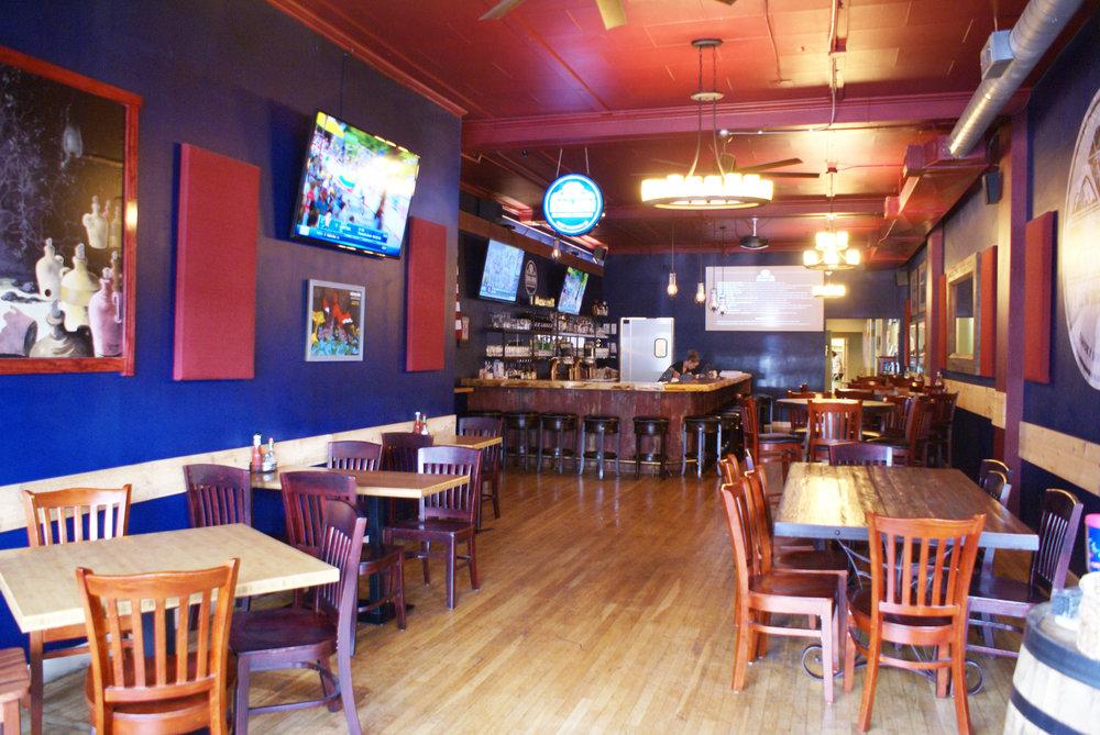 Boojum Brewery Taproom Restaurant Inside Bar