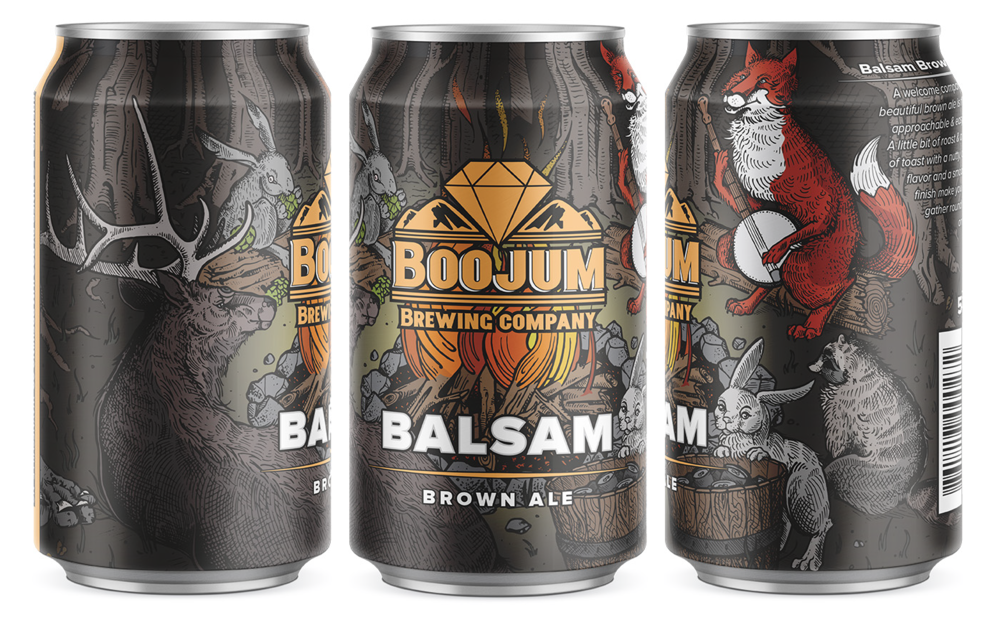 Boojum Brewing Balsam Brown Ale
