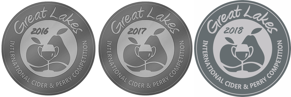 Awarded a 2016, 2017, and 2018 GLINTCAP silver medal in the New World Modern Cider category.