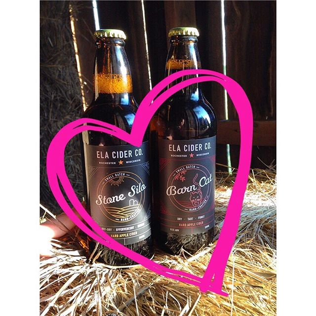 Looking for that perfect last-minute Valentine's Day gift for you special someone? 💘 (Or to #treatyourself? 😉) Pick up some Ela Cider! 🍻