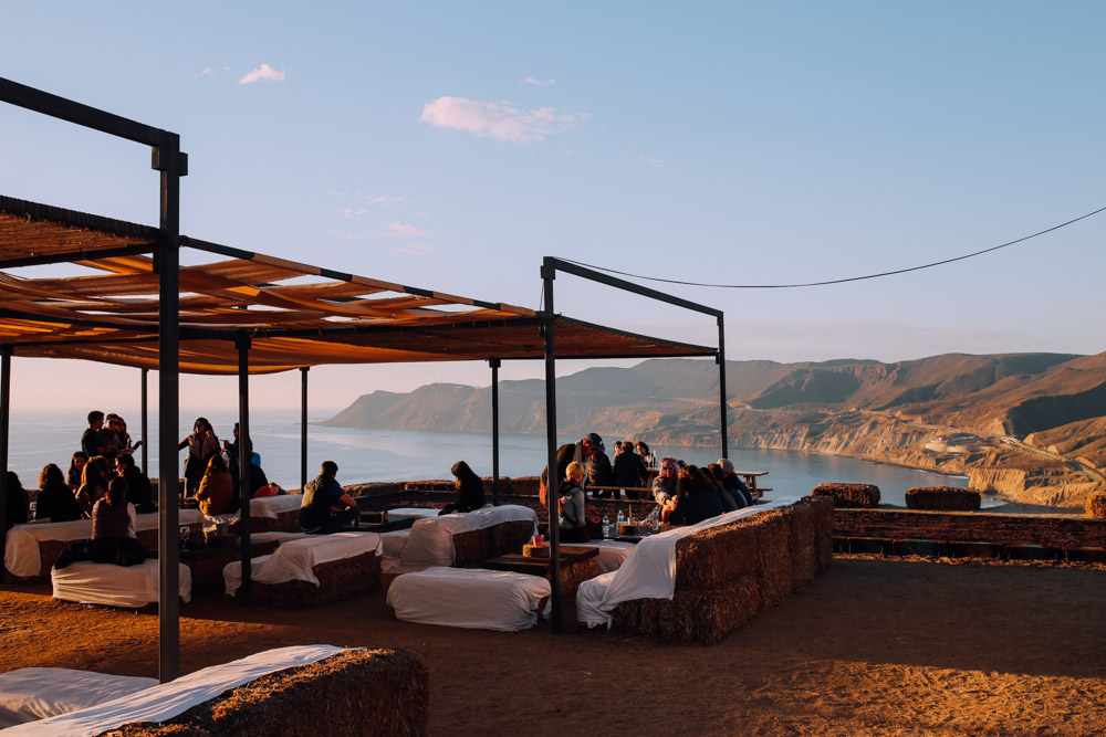 Sunset At Cuatro Cuatros In Valle De Guadalupe Mexico Local Wanderer