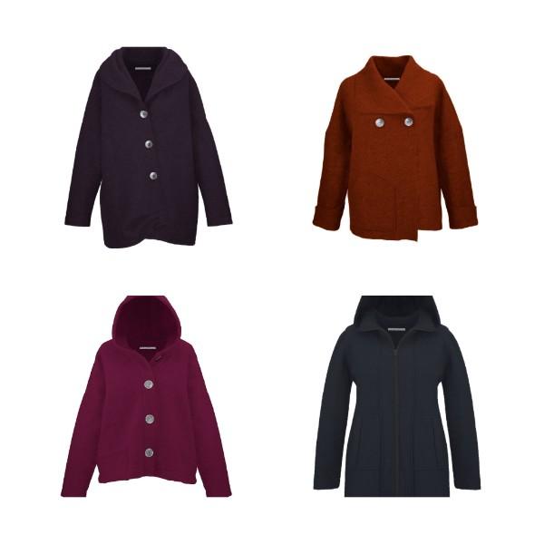 Passend für die kälteren Tage haben wir verschiedene Jacken zur Auswahl.