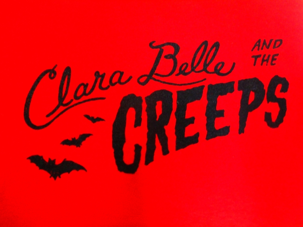 Clara Belle and The Creeps Logo