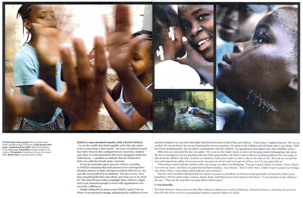 THE BIG ISSUE - The Haiti Project 2007
