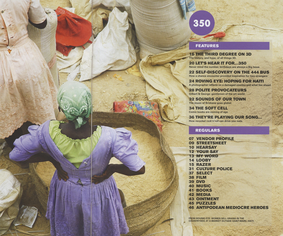 THE BIG ISSUE - The Haiti Project 2010
