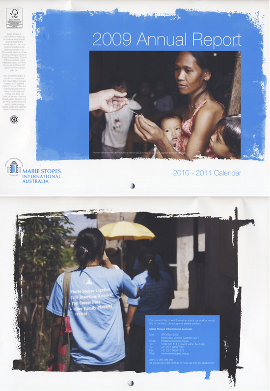 Marie Stopes Annual Report 2009 - Womens Reproductive Health Philippines