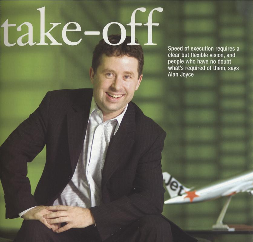 CEO FORUM - Alan Joyce former CEO of Jet Star