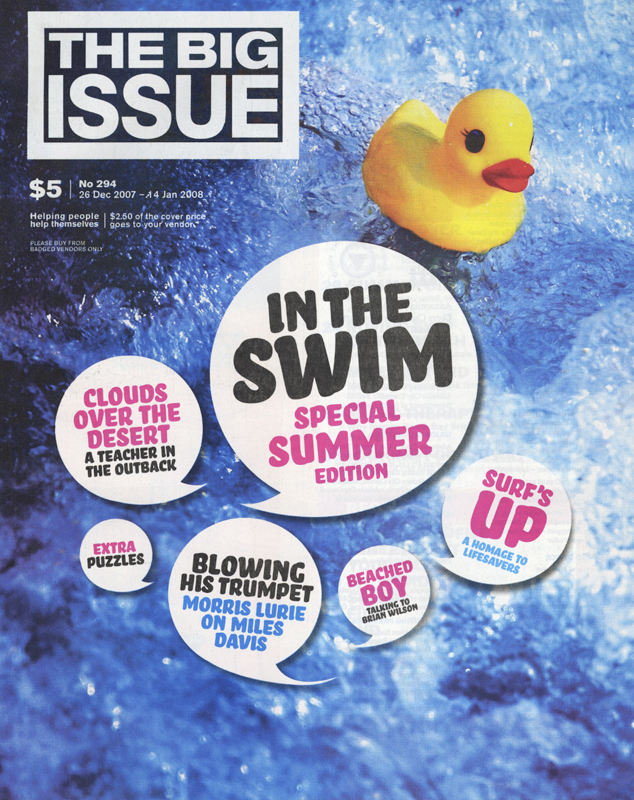 THE BIG ISSUE - Summer Cover Story 2008