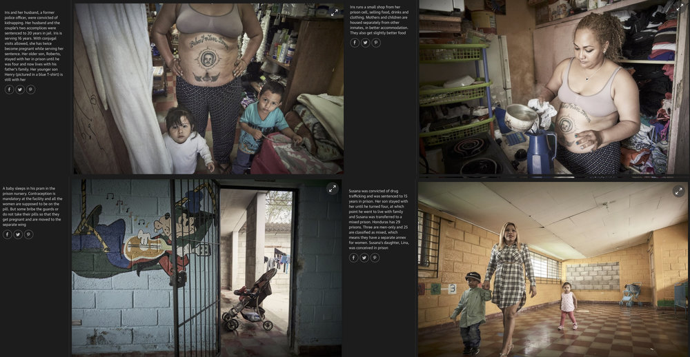 The Guardian - Babies Behind Bars - Global Development pages 4 - 7