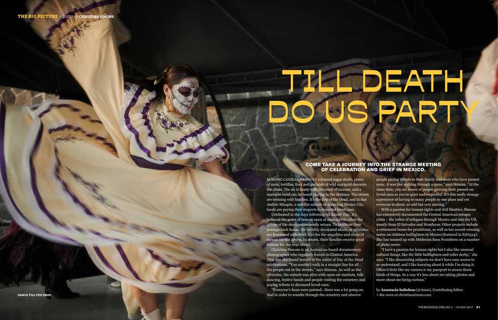 """THE BIG ISSUE - """"Dia de los Muertos"""" 2017"""