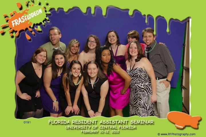 FSC's delegation for FRASelodeon at UCF