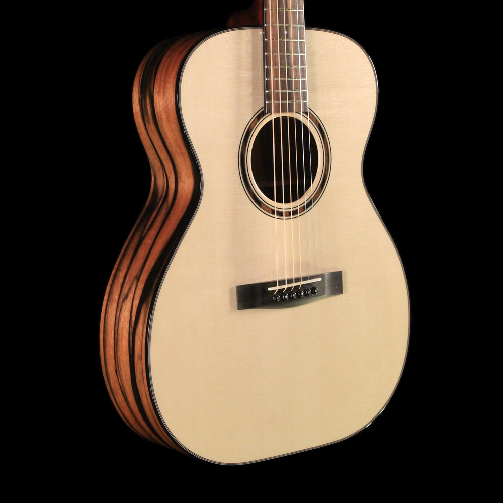This Macassar ebony guitar