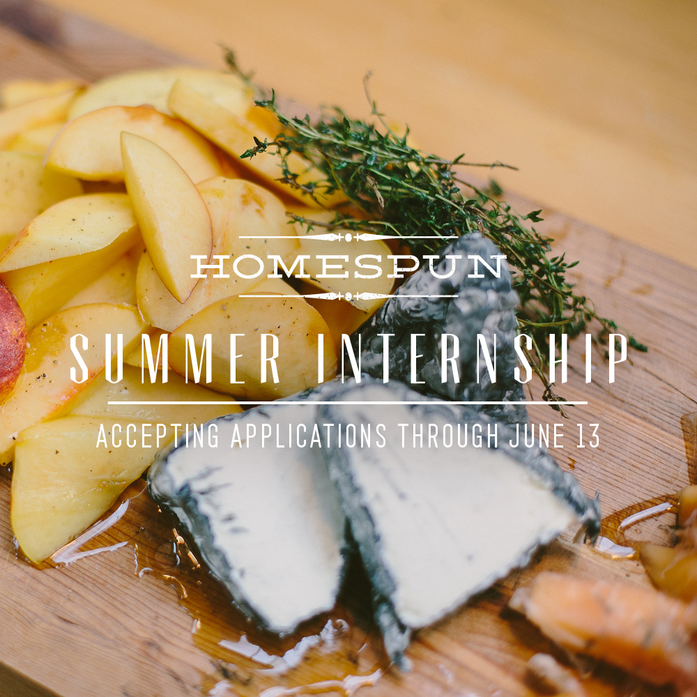 Homespun ATL Summer Internship
