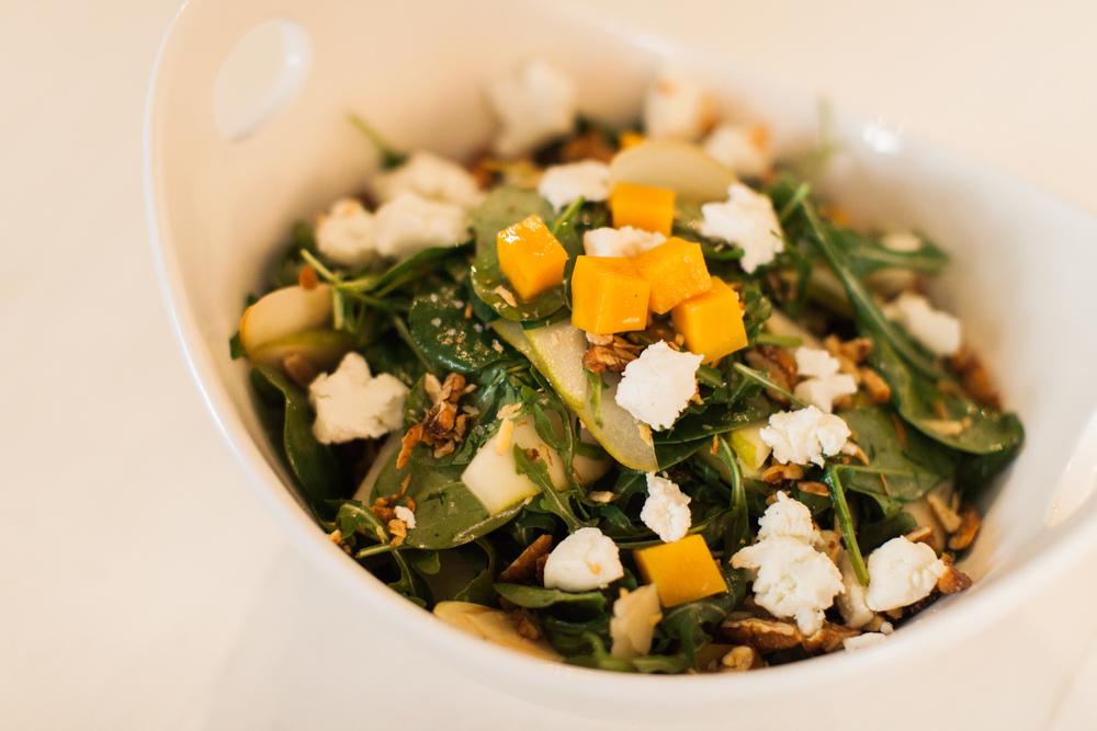 Homespun ATL Butternut Squash Salad