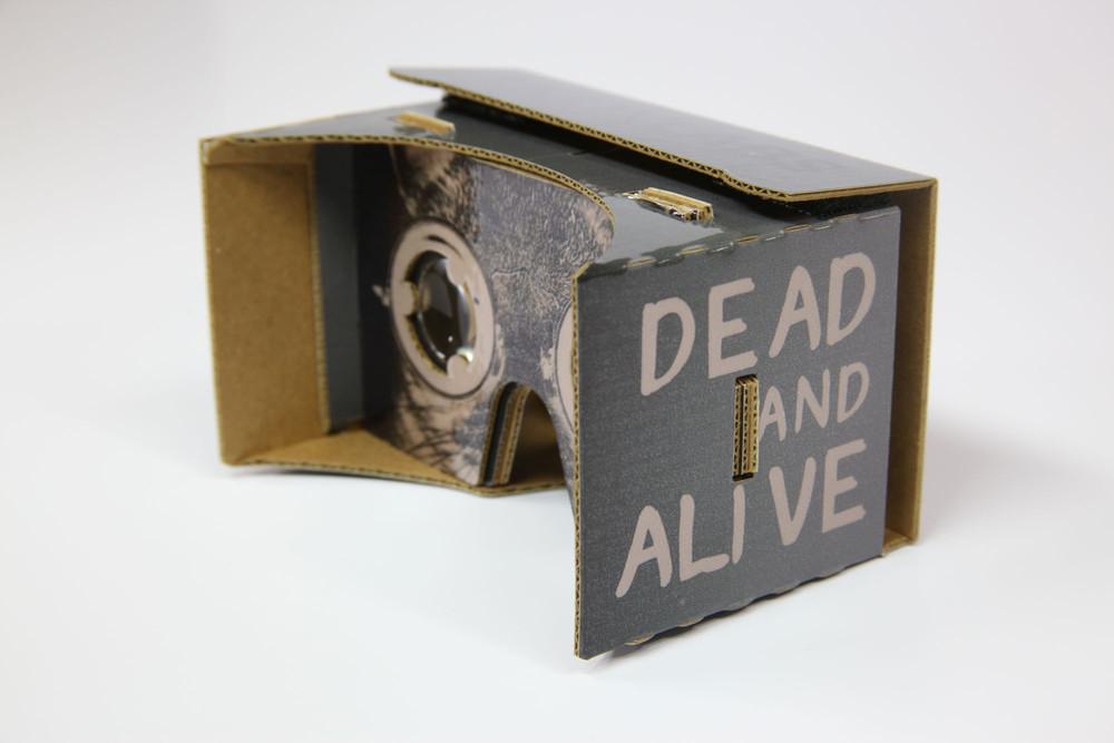 Le chat de schrödinger version Cardboard / Knox Lab