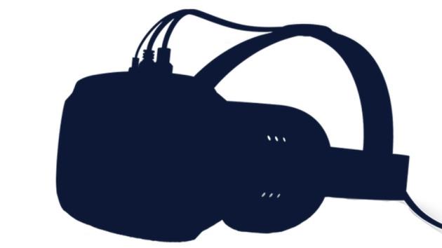 Le casque de Valve tel qu'il circule sur tweeter. Et en couverture, une illustration inspirée de Portal, un jeu éditépar Valve.
