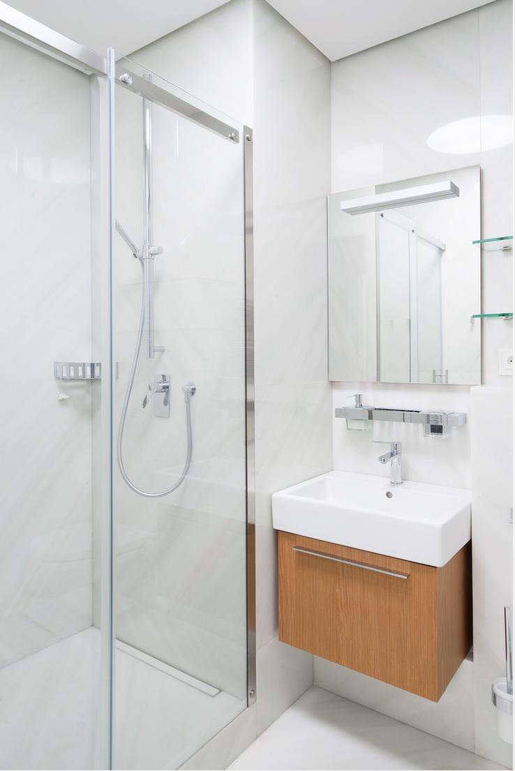 Skypod systes modular bathroom pods installation of skypod for Modular bathroom
