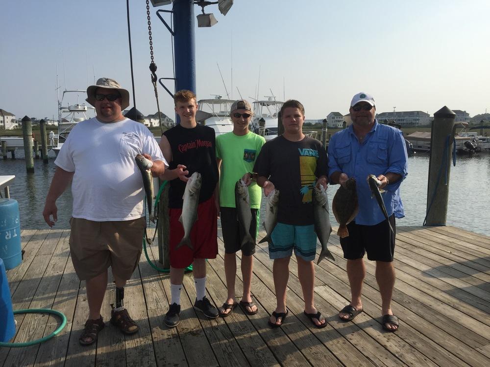 Fishing trip with Justin, Jake, Josh, and DJ June 112015.