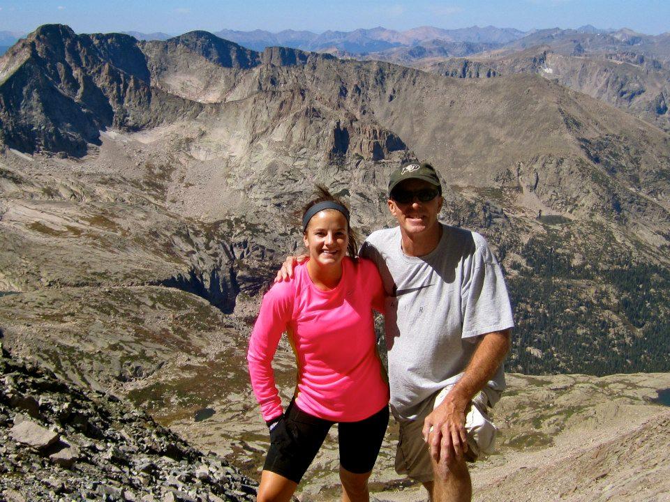 My first fourteener: Longs Peak (September 2012).
