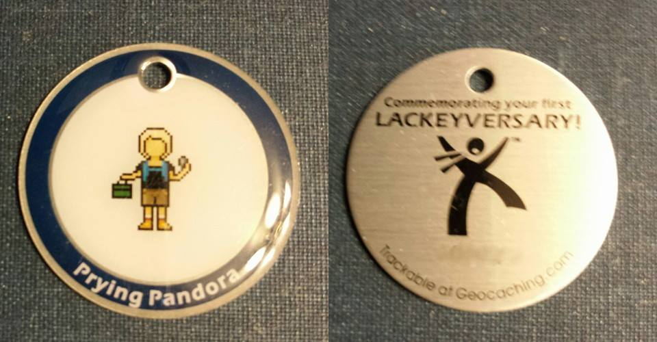 Prying Pandora Lackey Tag