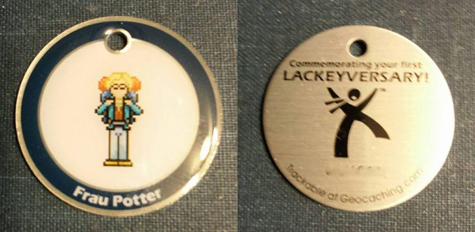 Frau Potter Lackey Tag