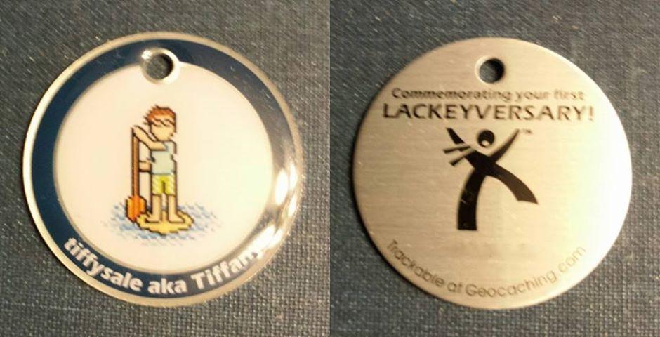 Tiffysale Lackey Tag