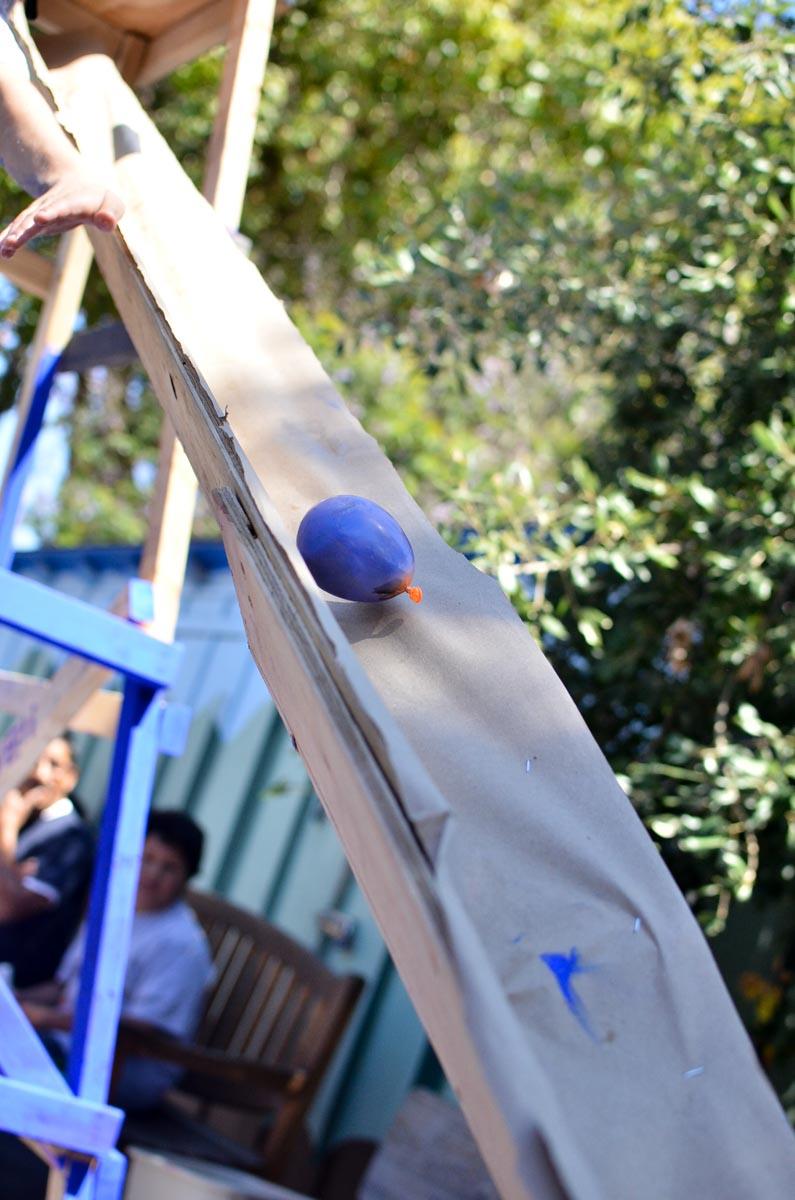 balloon chute