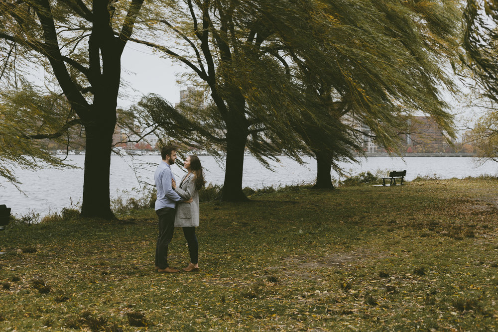 F+C Engagement Session on the Charles