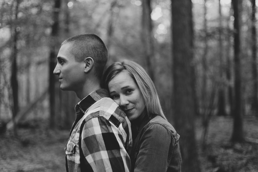 A+T Engagement Session at Buttermilk Falls