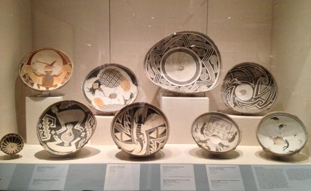 Southwestern Prehistoric Mimbres Pottery   Circa: 1000 - 1150 A.D.