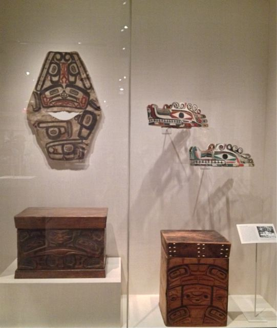 Examples from the Northwest Coast   Circa: 1830 - 1875