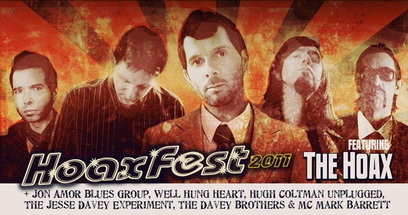 Check out the official   hoaxfest   tumblr - we are appearing - first show is  Nov 1st  at the O2 Islington London.