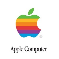 Haha Robin thought this oldddd skool Apple logo was a new Apple Logo for Pride…   Not so much, Robin.