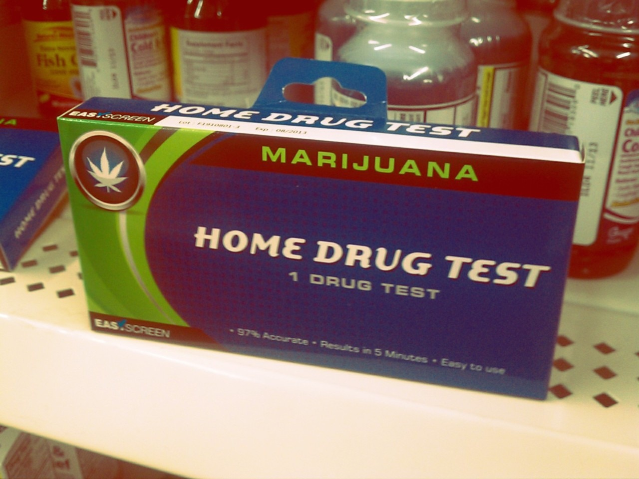 Which do you trust more - me or this drug test kit from the dollar store?